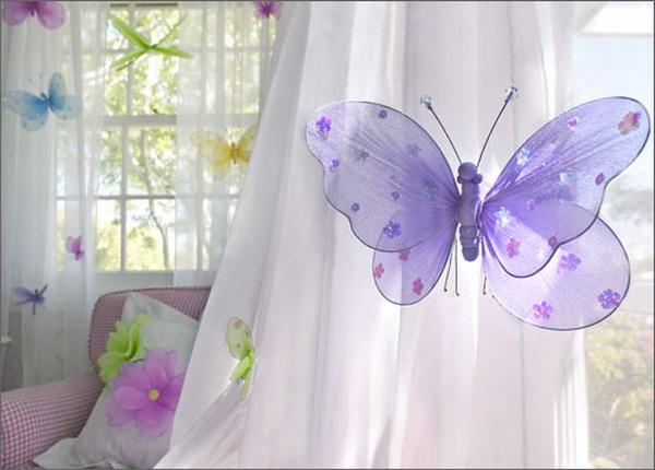 Бабочки для детской своими руками