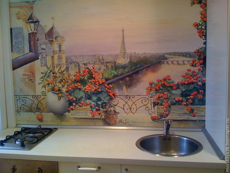 Дизайн стен на кухне. Красиво и функционально