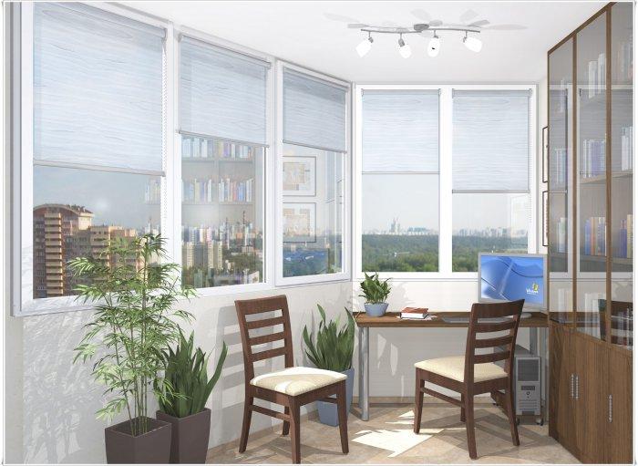Дизайн двухкомнатной квартиры.