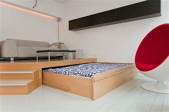 Выдвижная кровать как сделать