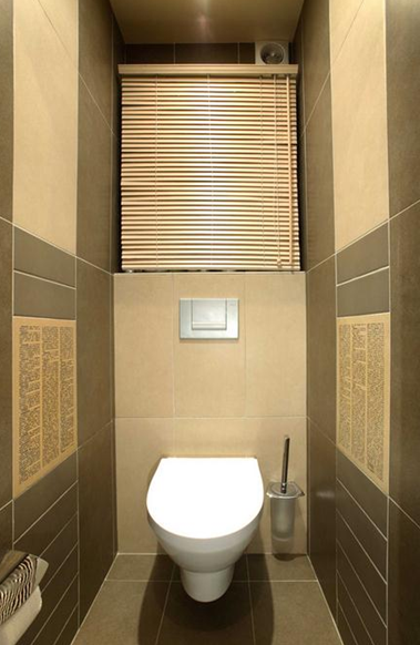 Раздельный туалет и ванна дизайн фото