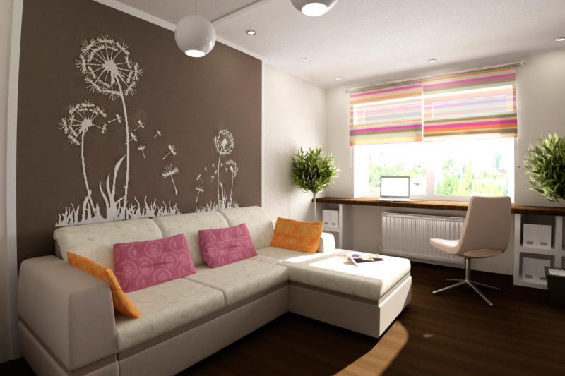 Дизайн интерьера квартиры 25 кв м фото - Дизайн фото