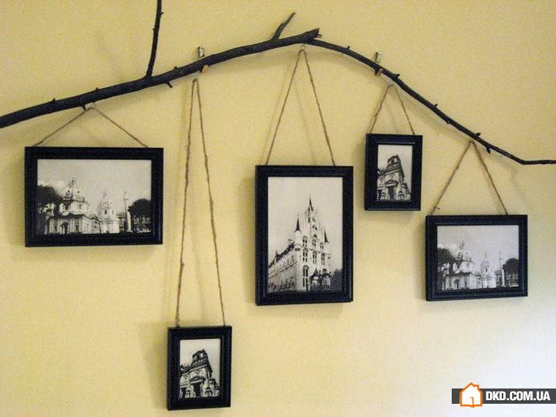 Идеи рамок для фото на стену своими руками