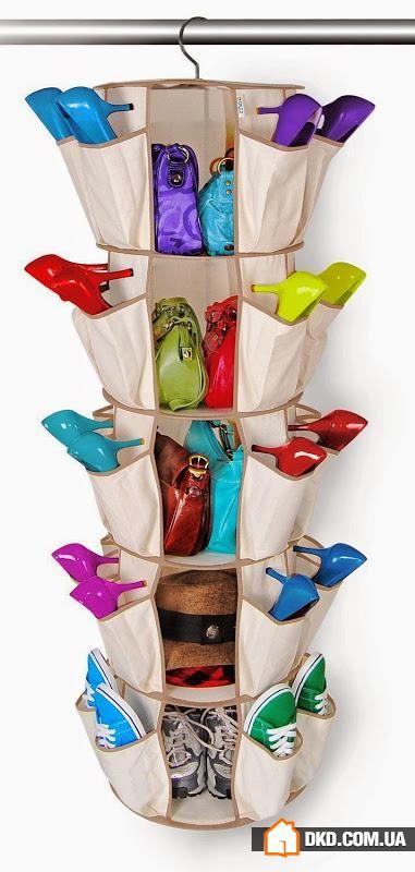 Как сшить вертикальный органайзер для обуви 420