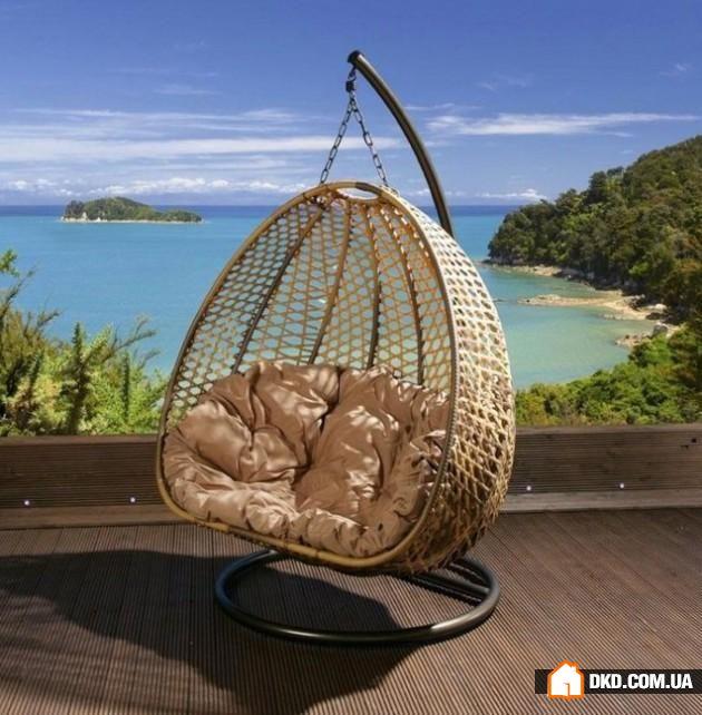Подвесное кресло гнездо своими руками