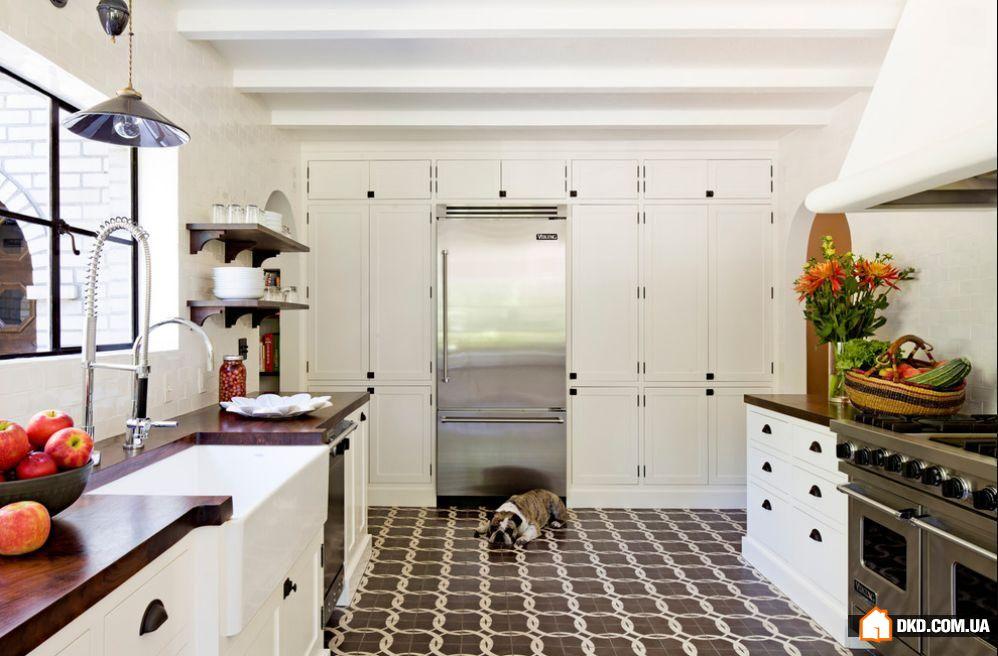 Пол кухни идеи