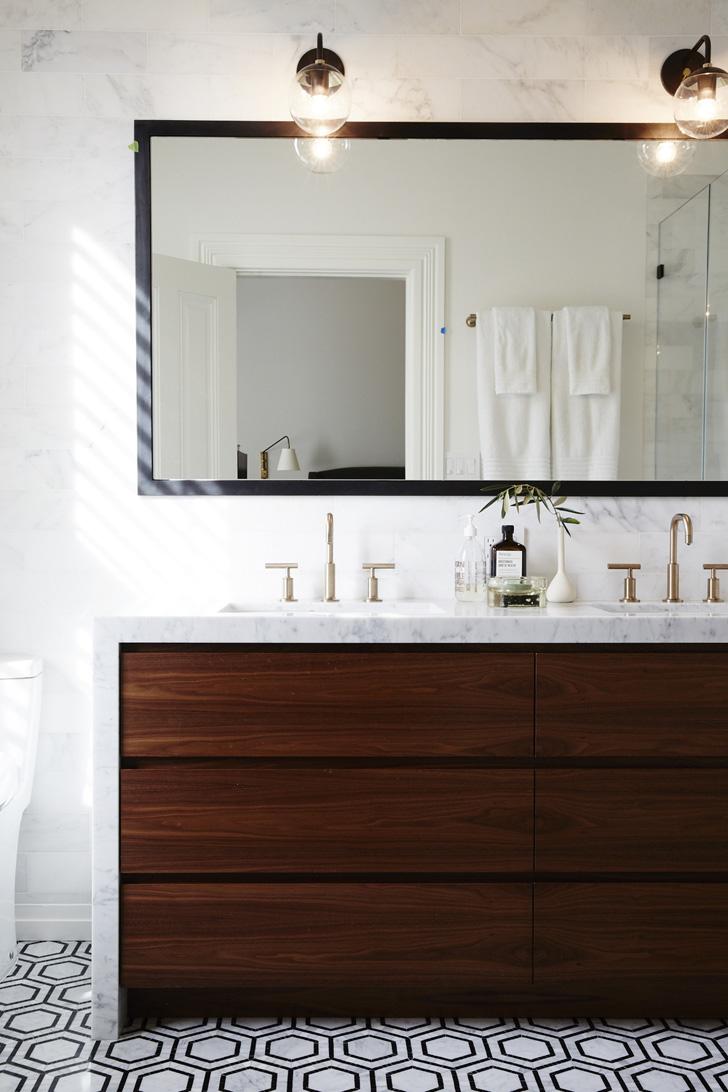 Красивые современные ванные