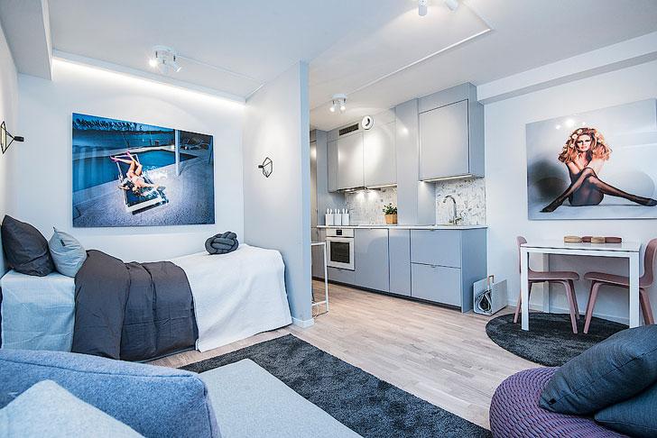 Фото дизайна квартир очень маленьких квартир