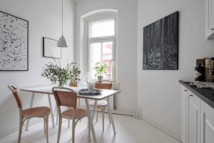 Шик и простота по-скандинавски (61 кв. м)