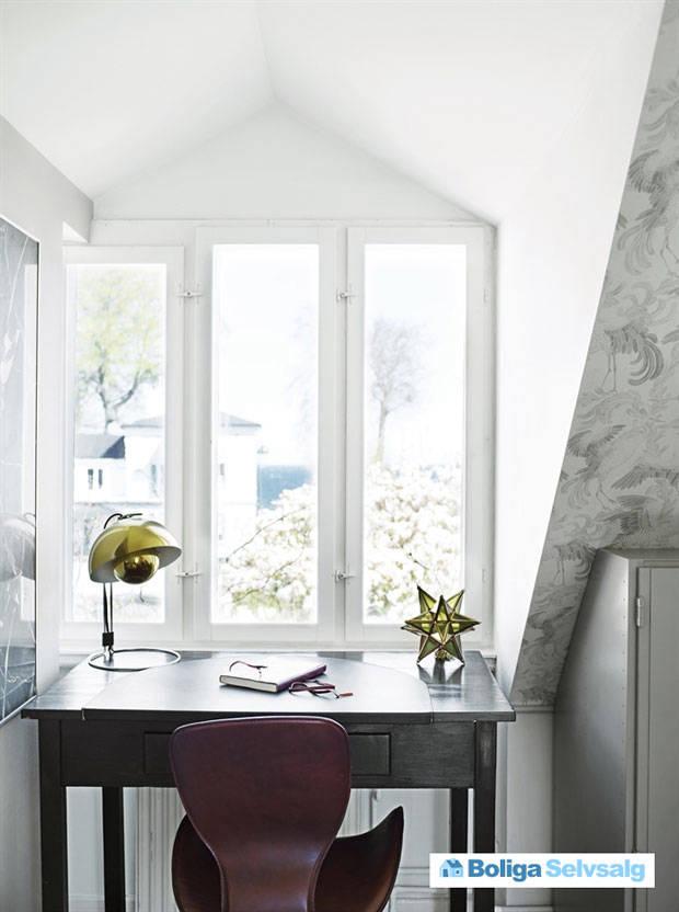Скромный снаружи, изысканный внутри дачный домик в Дании