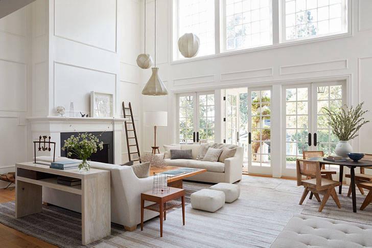 Светлый и просторный дом в Калифорнии