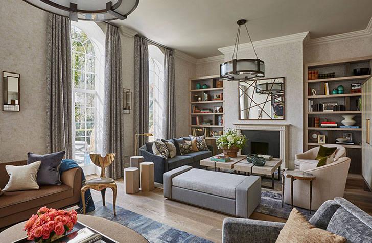 Современный дом для большой семьи в Лондоне