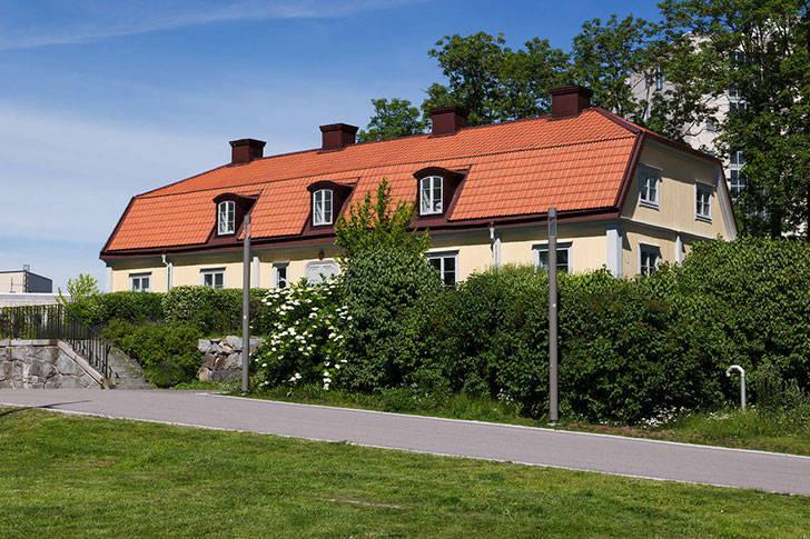 Квартира с изысканными интерьерами в пригороде Стокгольма (73 кв. м)