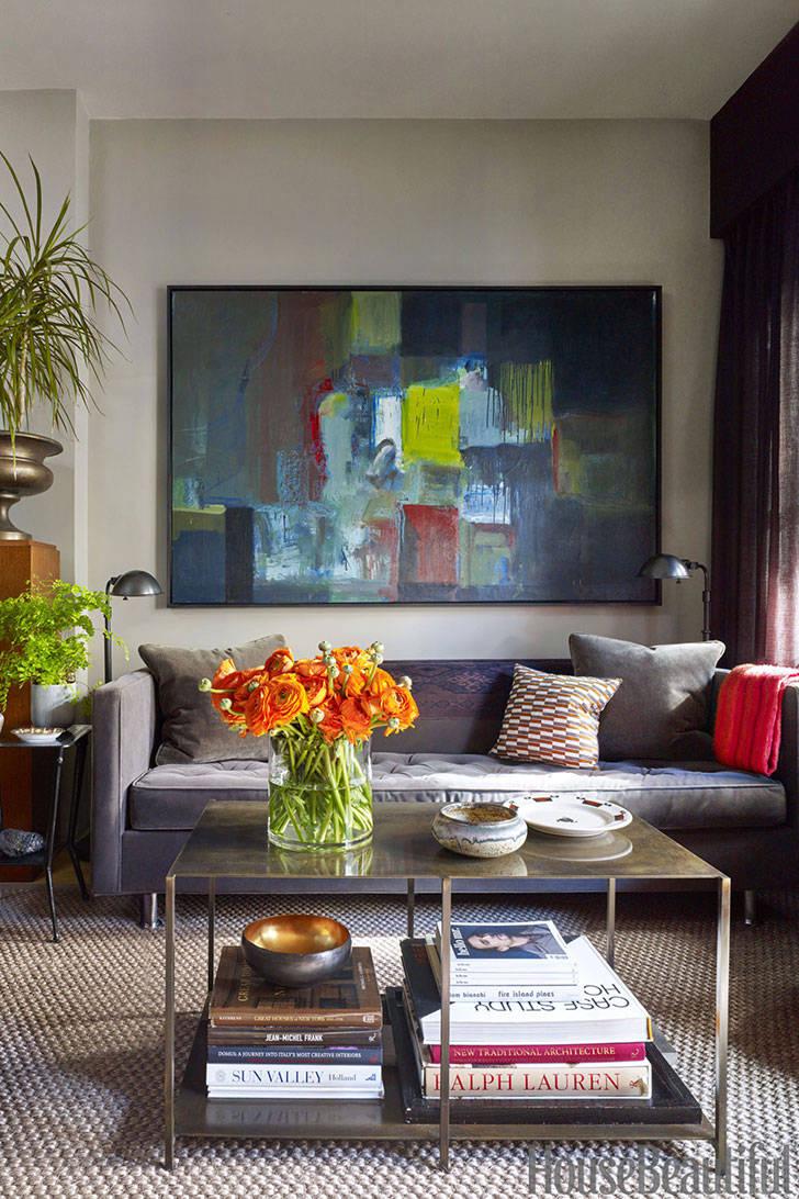 Маленькая галерея искусств: квартира дизайнера в Нью-Йорке