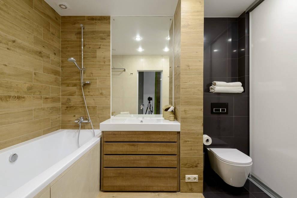 Квартира с бетонным потолком