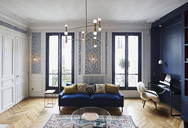 Gcg Architectes стильные апартаменты в париже от gcg architectes 20 фото квартиры
