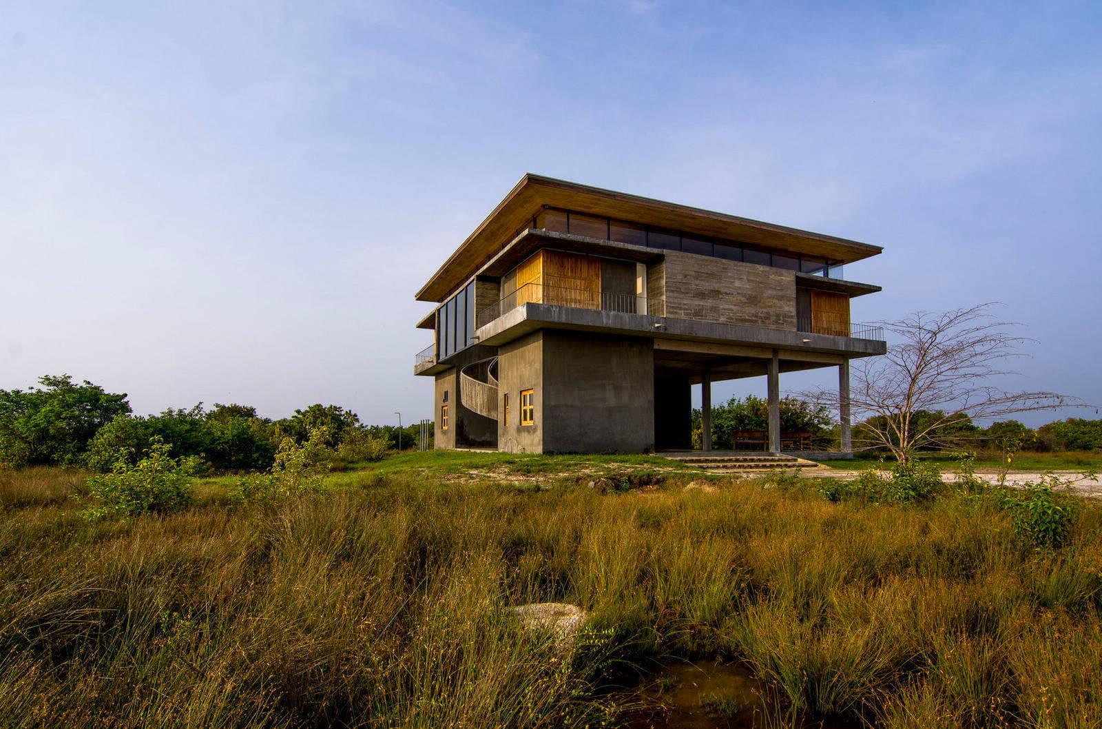 Гостевой дом для сотрудников парка