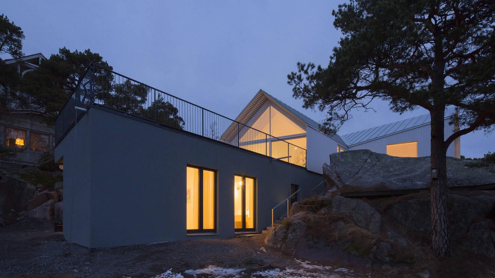 Дом на побережье в Финляндии