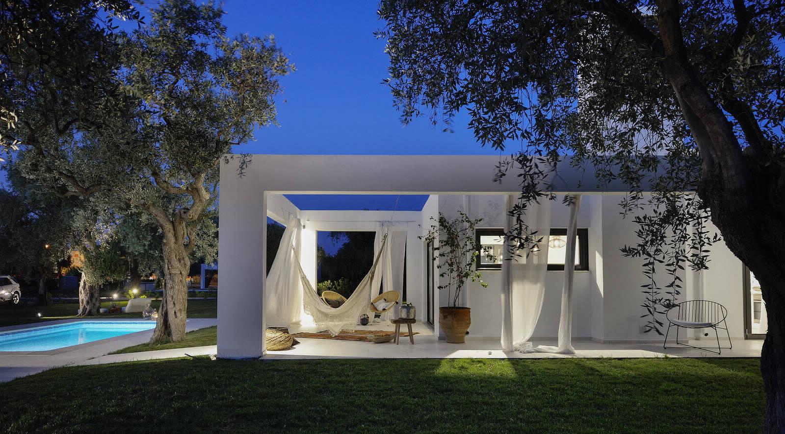 Вилла в оливковой роще