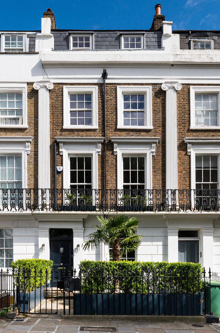 Современные интерьеры викторианского таунхауса в Лондоне