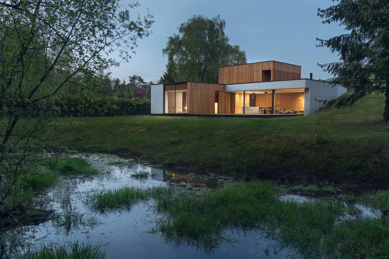 Дом на краю заповедника в Польше