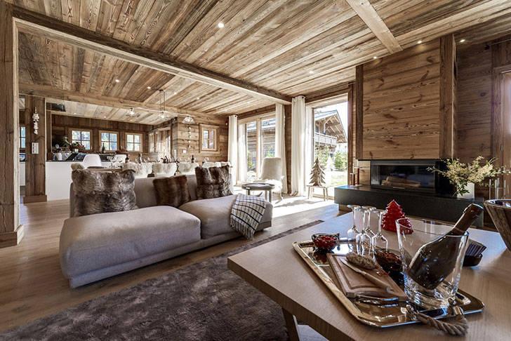 Уютное современное шале Amande в Межеве, Франция