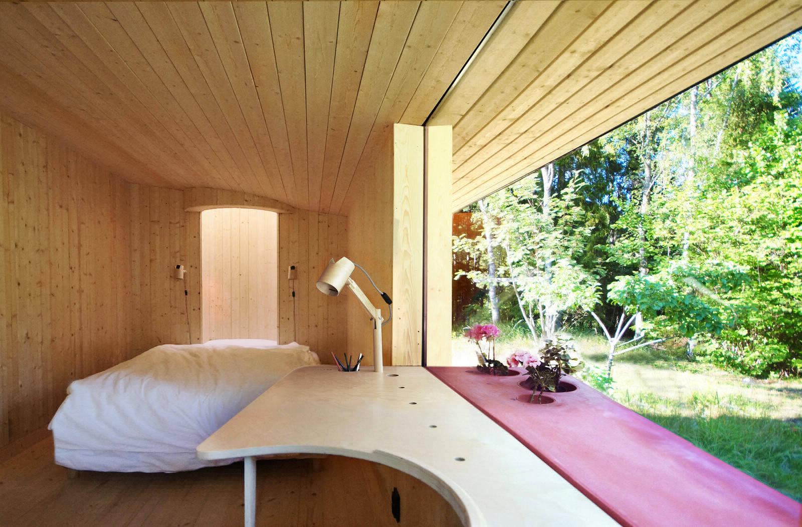 Уютный домик площадью 18 квадратных метров на островке Стокгольмского архипелага