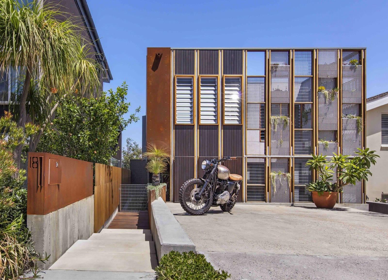 Умный дом в пригороде Сиднея