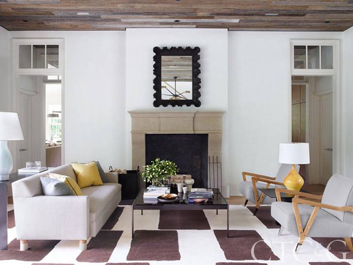 Традиции в современном исполнении в дизайне загородного дома в США