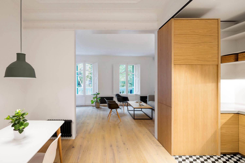 Преображение старой квартиры в Барселоне