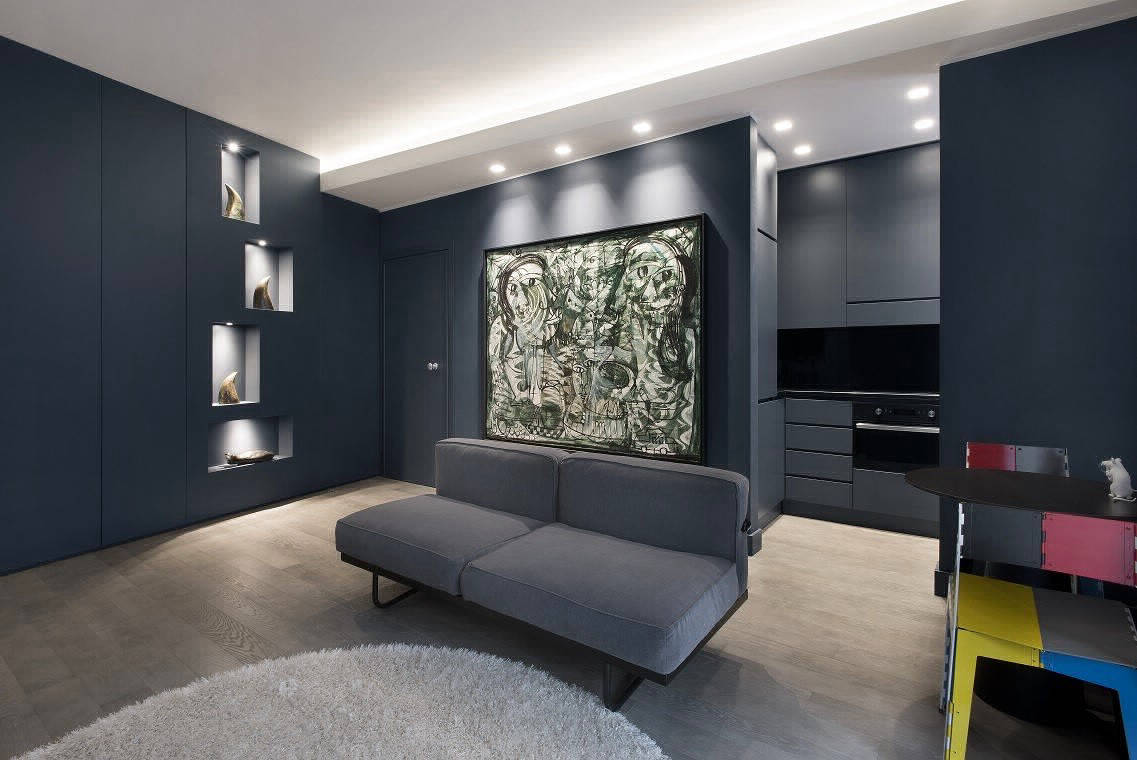 Небольшая квартира в Милане с неповторимым характером