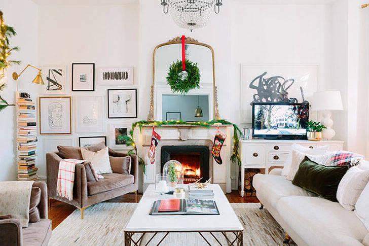Рождество как в кино: супер-уютный дом в Чикаго
