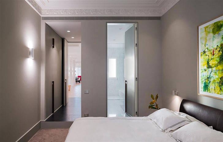 Яркий интерьер в доме 19-ого века в Барселоне