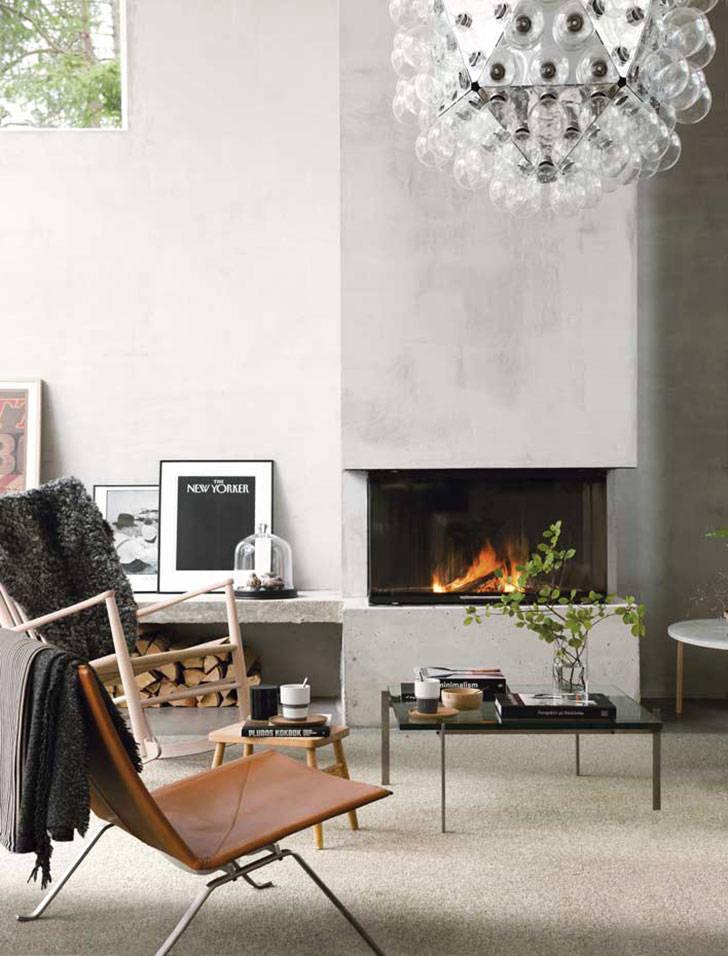 Современный дизайн дома посреди нетронутой природы