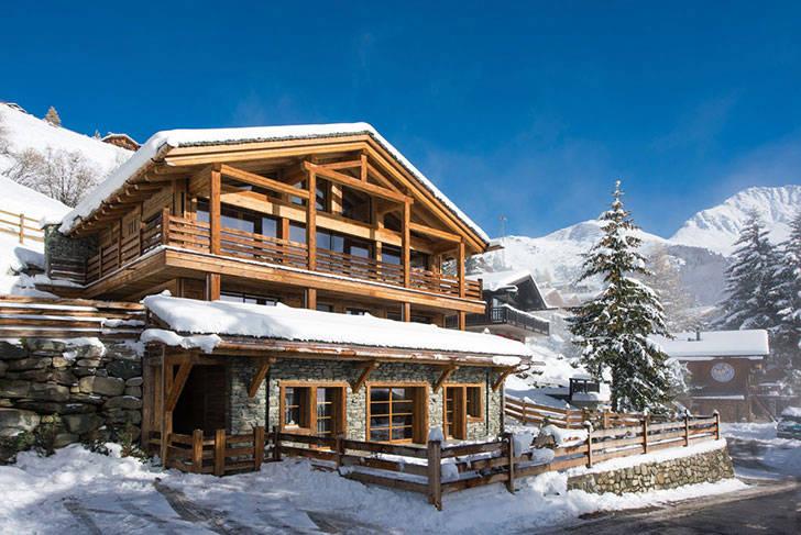 Стильное шале Lucine в Швейцарии