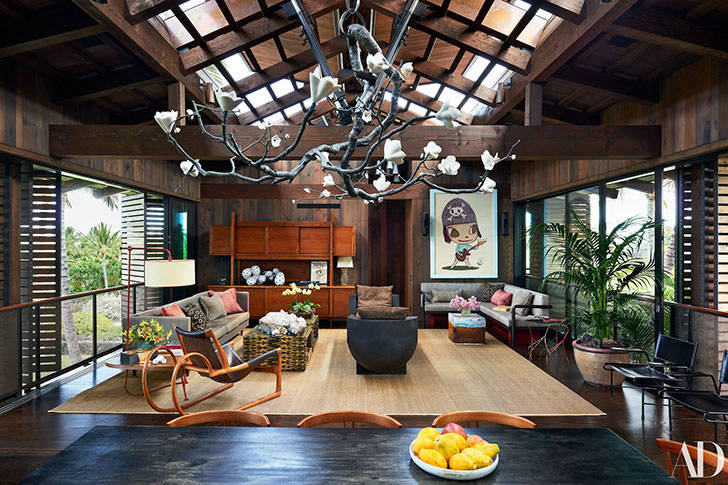 Бассейн, пальмы и мосты: удивительный дом на Гавайях