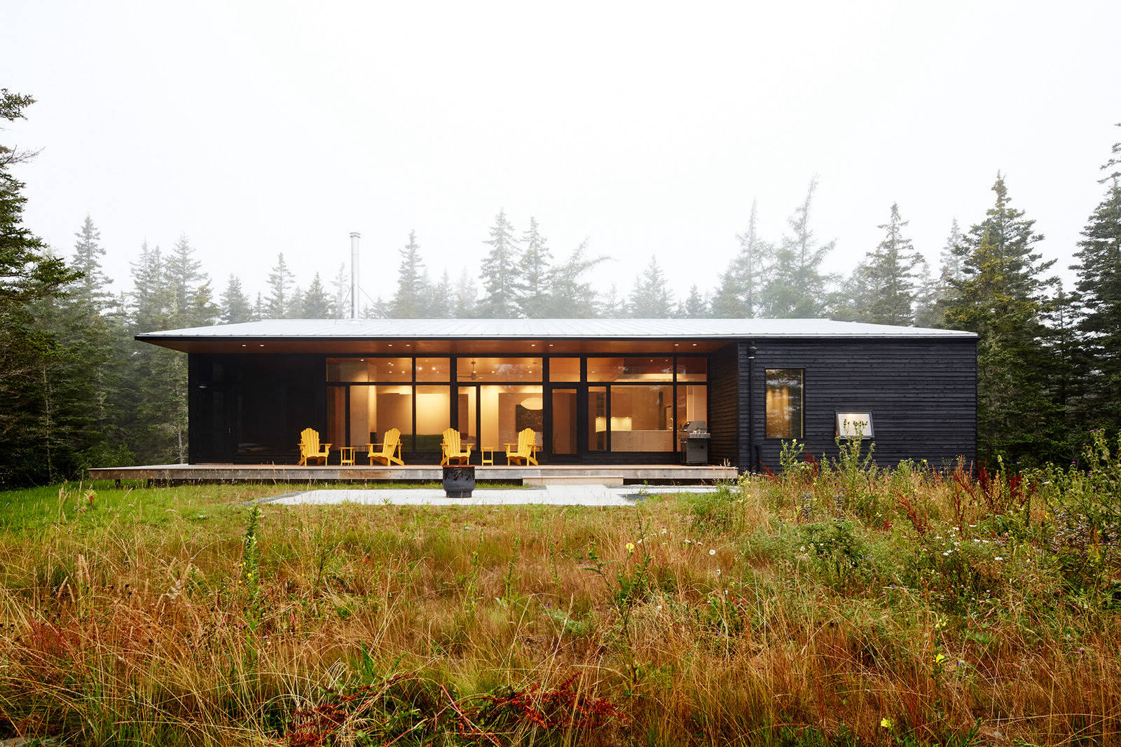 Пляжный дом в Новой Шотландии