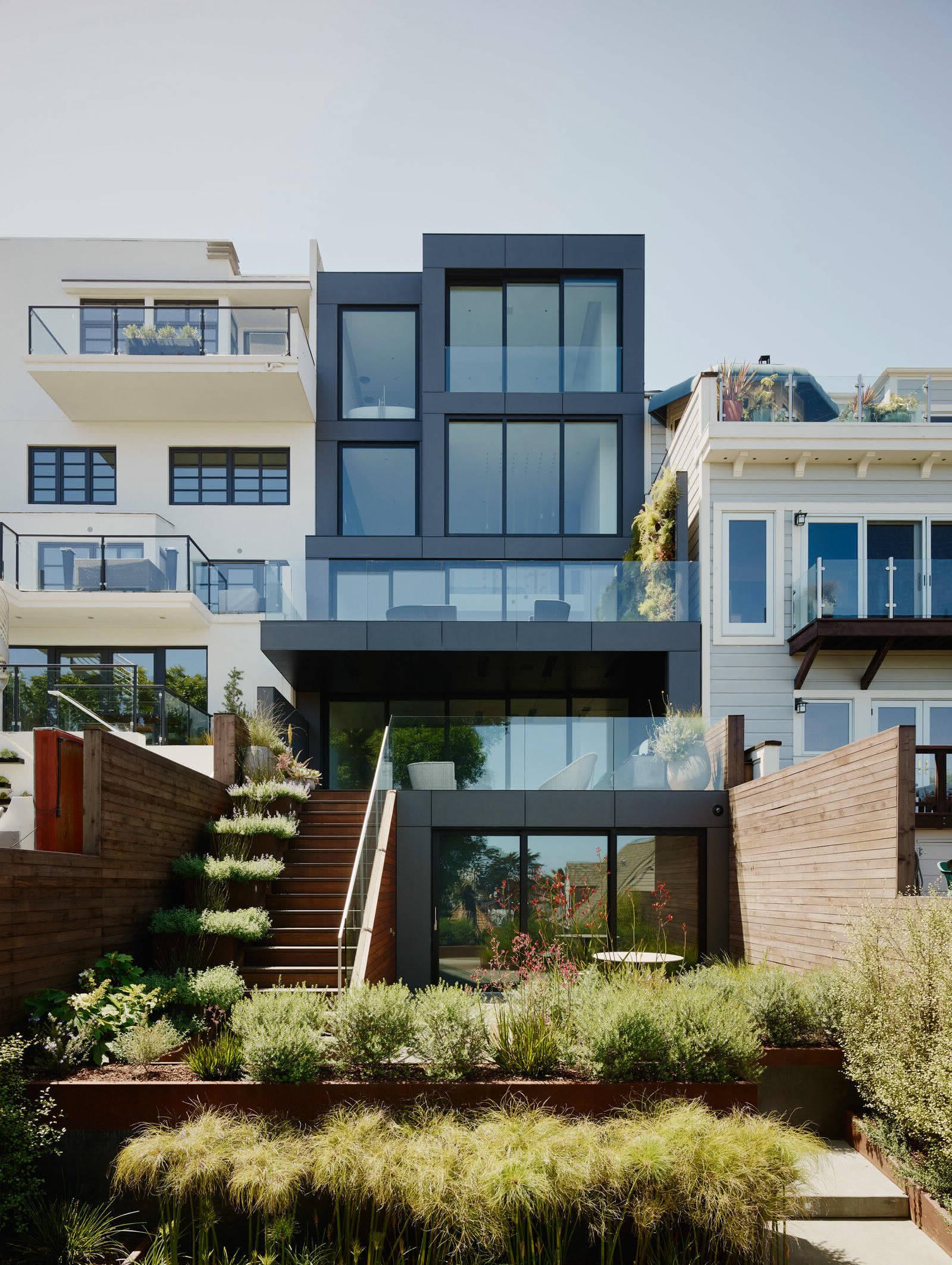 Незабываемый дизайн дома в Сан-Франциско