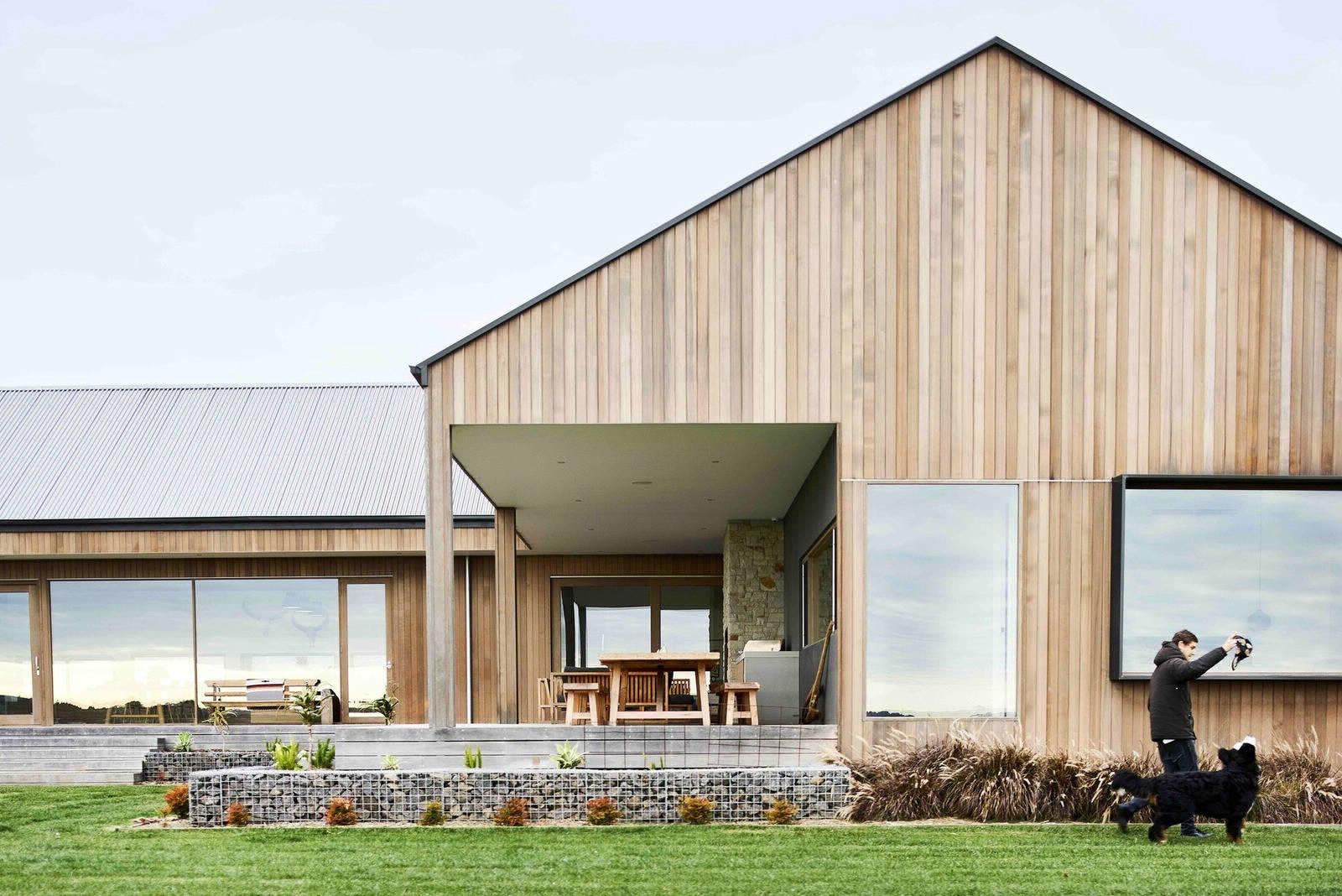 Дом в стиле ранчо в австралийской глубинке