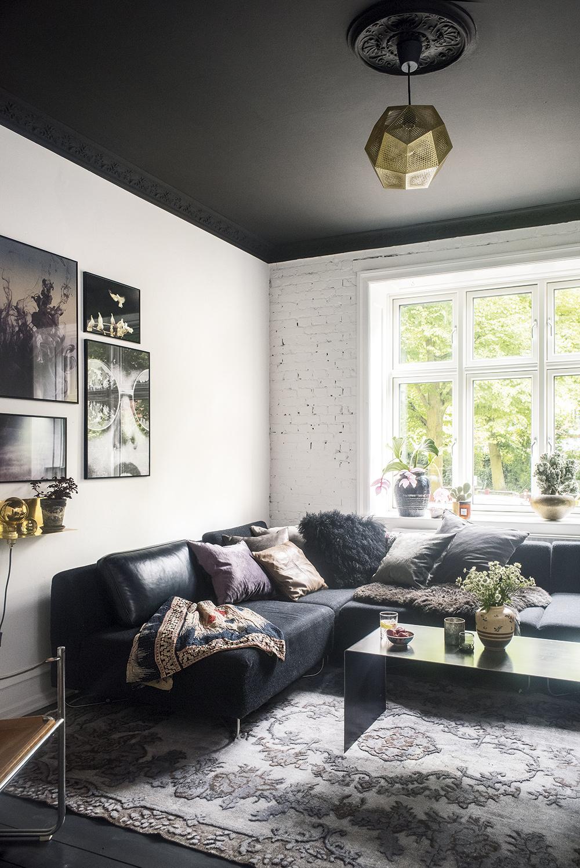 субботу собирались фото комнат белый пол темный потолок так все