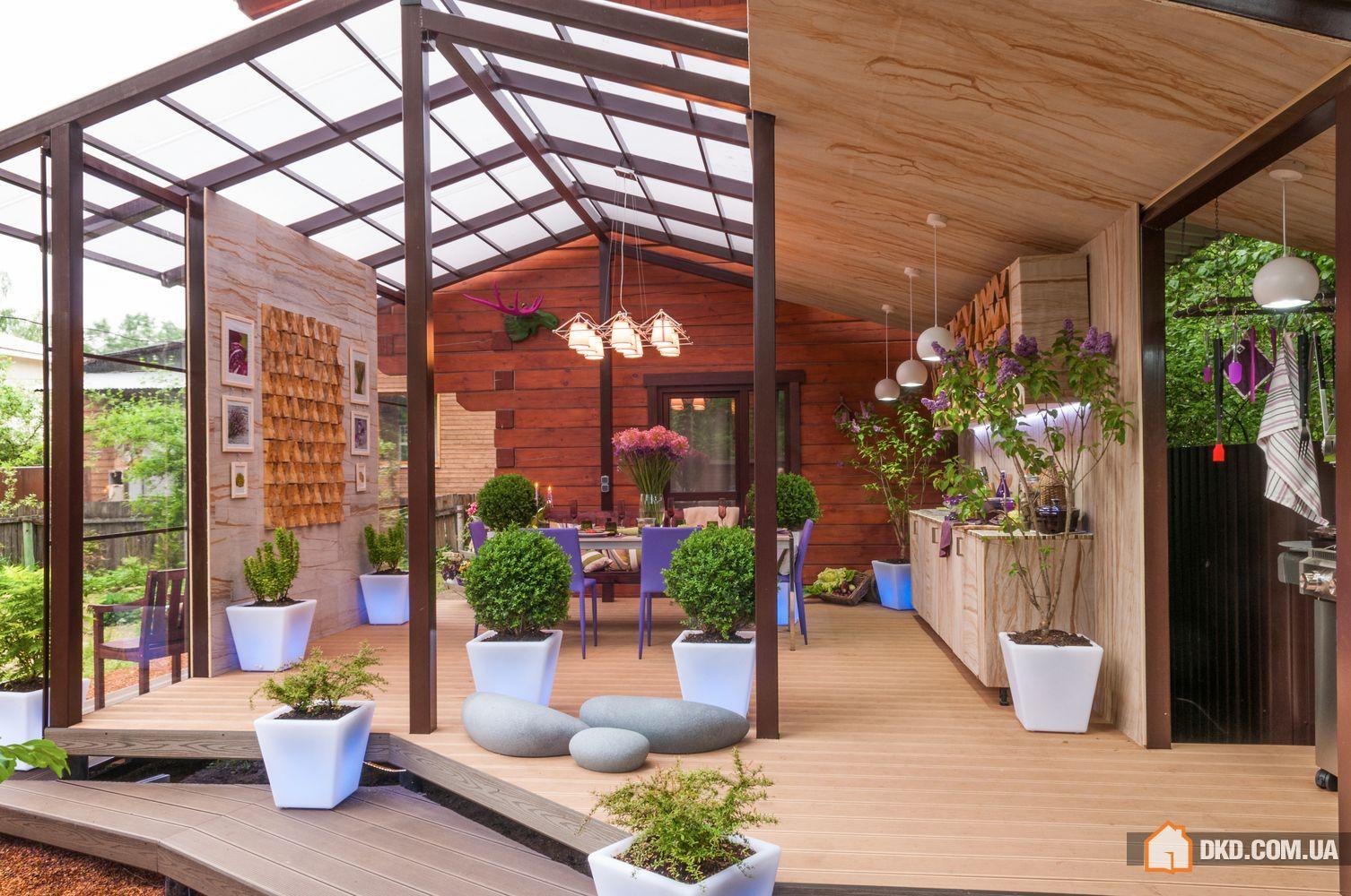 Терраса на даче - фото идеи современного дизайна террасы на .