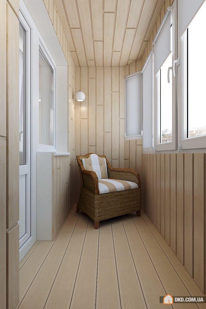 Балкон - фотографии интерьера, фото дизайна интерьеров.
