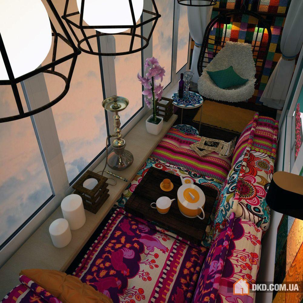 Дизайн узкого балкона: стильные рекомендации по оформлению (.