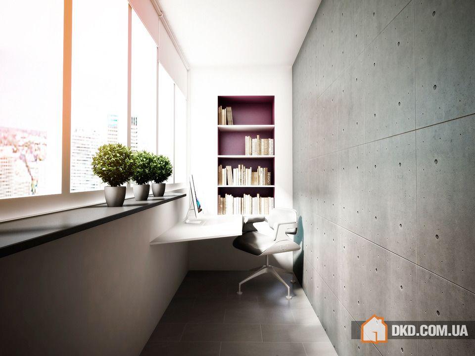 Как сделать рабочий кабинет на балконе? :: nash homer - desi.