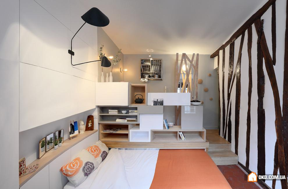 Дизайн квартиры студии 12 кв м