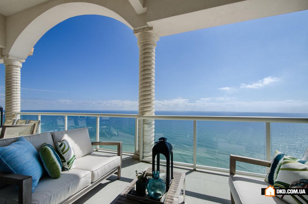 Купить квартиру с террасой на море