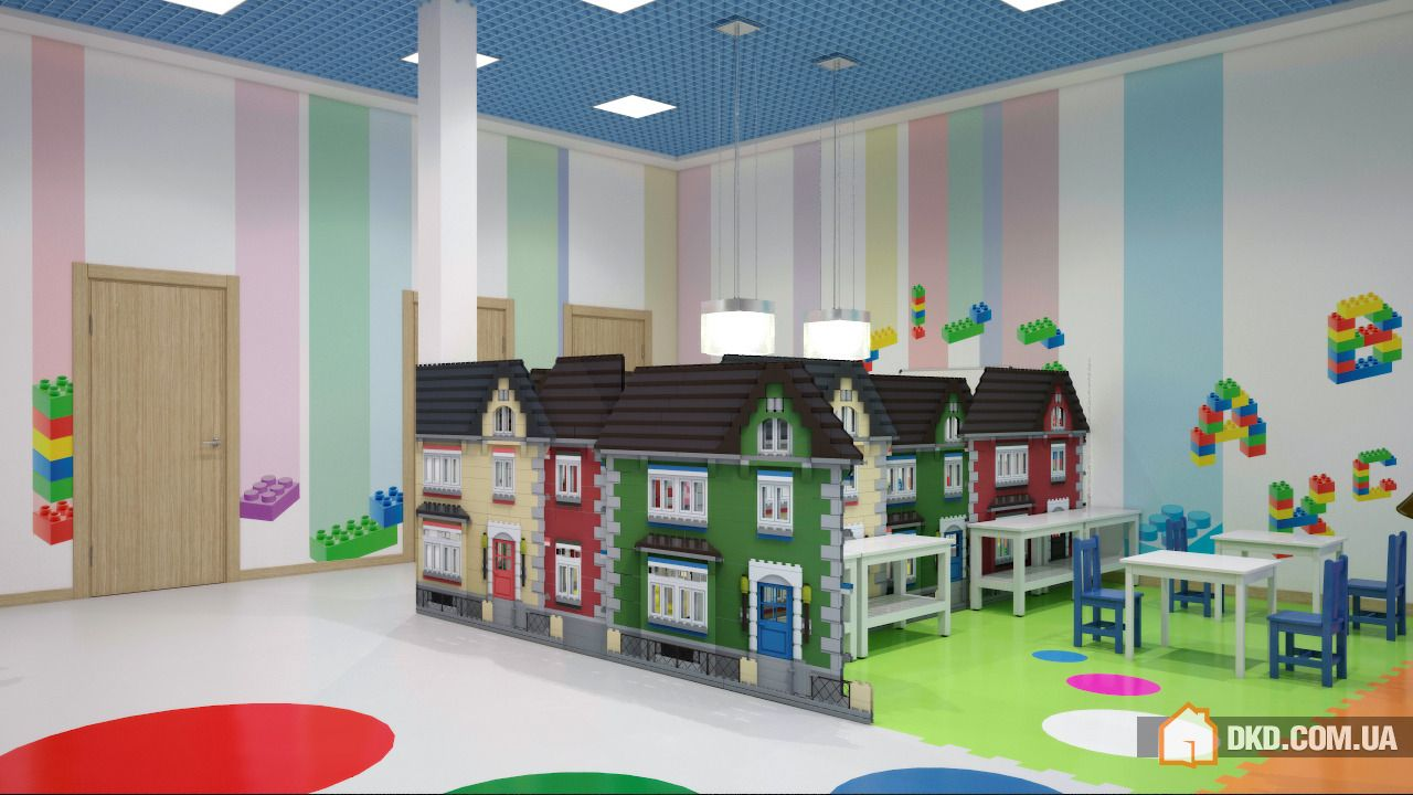 Современный дизайн группы детского сада