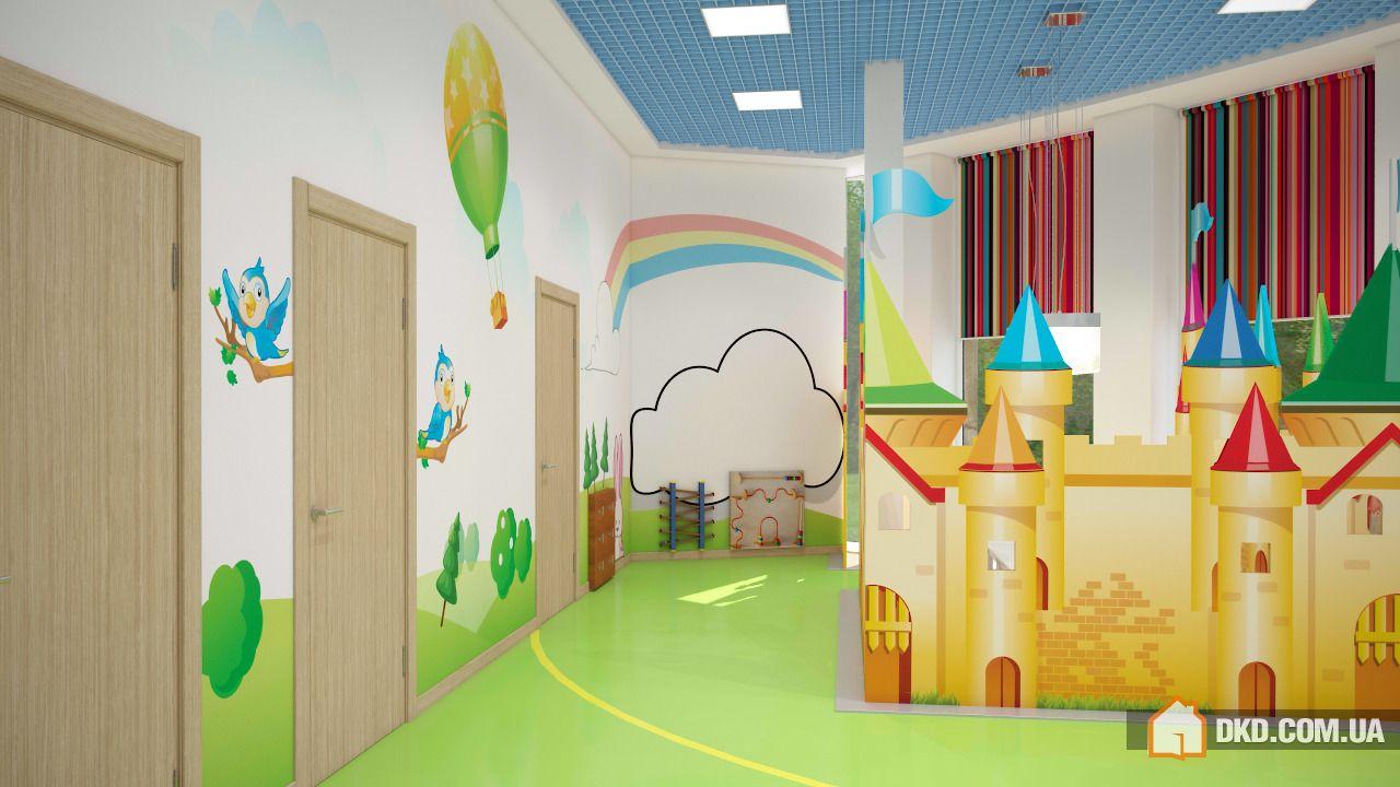 """Оформление и интерьер детского сада """" картинки и фотографии ."""