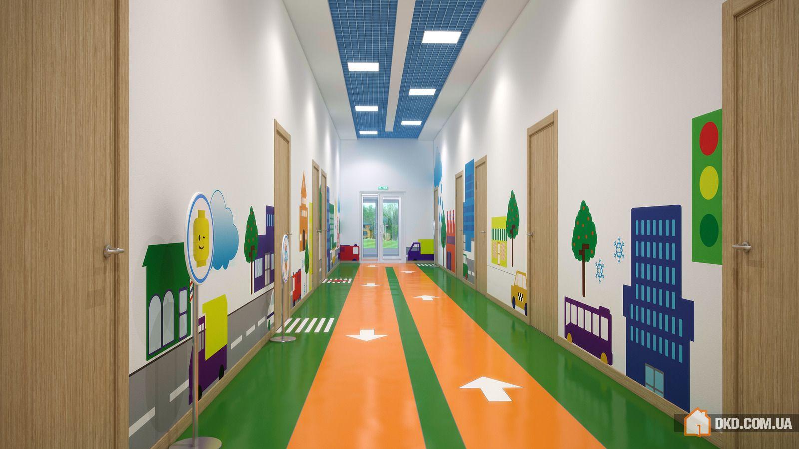 Оформление коридоров школы своими руками