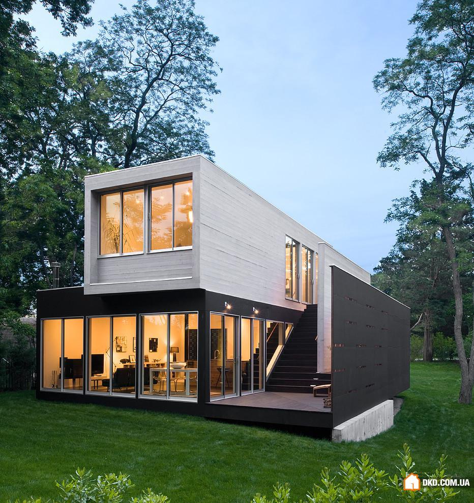 Жилой дом своими руками фото